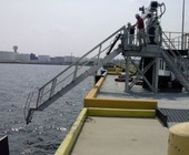 gangway in low position