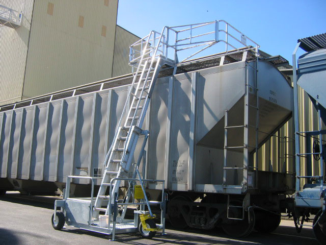 Portable Truck Access System Mobile Tanker Loading