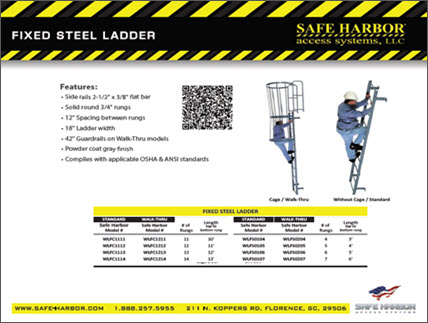 safe harbor catalog fixed ladder